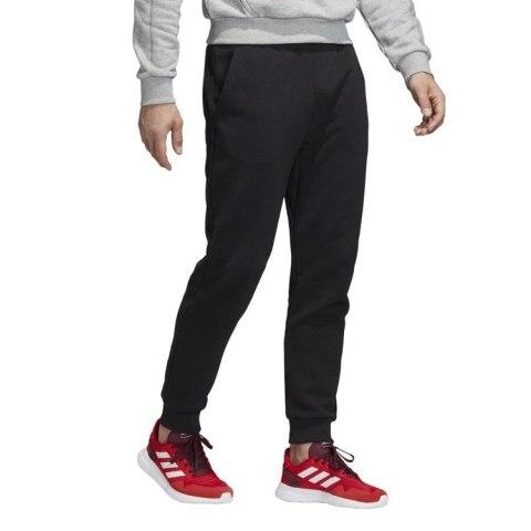 Spodnie dresowe męskie adidas Must Haves Badge of Sport Fleece czarne bawełniano poliestrowe